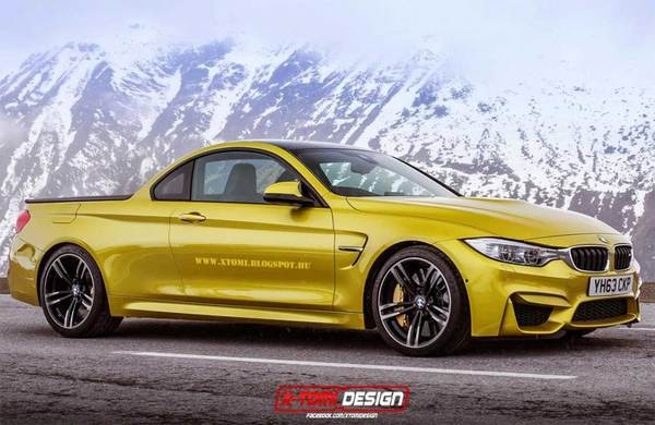 New Model Launch Bmw F84 M4 Pickup